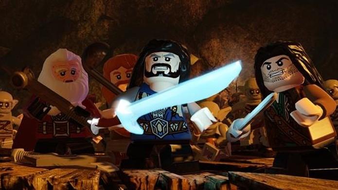 Resultado de imagem para JOGO LEGO HOBBIT 3 PS3