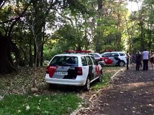 Mulher é encontrada morta em Araraquara (Foto: Pamela Cadamuro/Tribuna)