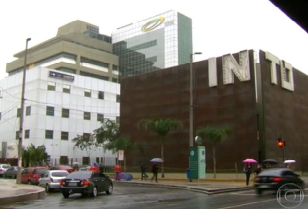 Hospital de Traumatoortopedia na Zona Portuária do Rio (Foto: Reprodução/TVGlobo)
