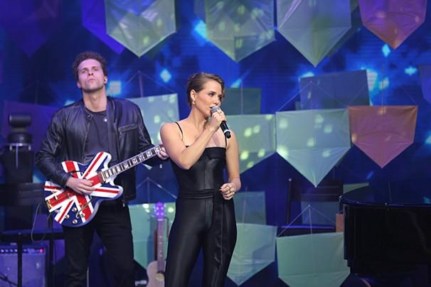 A banda formada por atores fez sucesso no especial (Foto: Globo/Amanda Freitas)