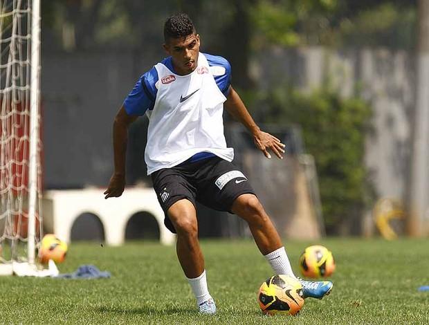 Emerson, lateral-esquerdo do Santos (Foto: Ricardo Saibun/Divulgação Santos FC)