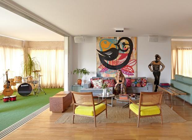 Varanda integrada casa e jardim arquitetura - Bateria para casa ...
