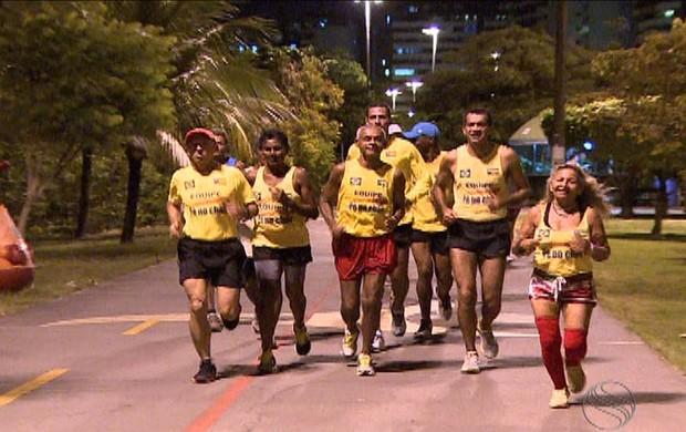 Corrida- Volta de Aracaju e Corrida dos Quarentões (Foto: Reprodução/TV Sergipe)