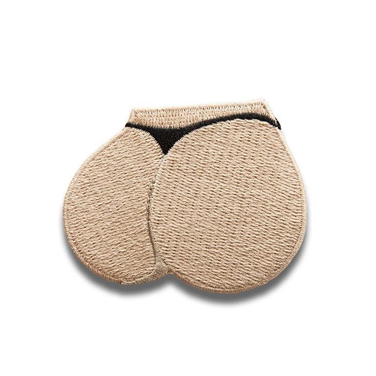 Patch em forma de bumbum (Foto: Reprodução)