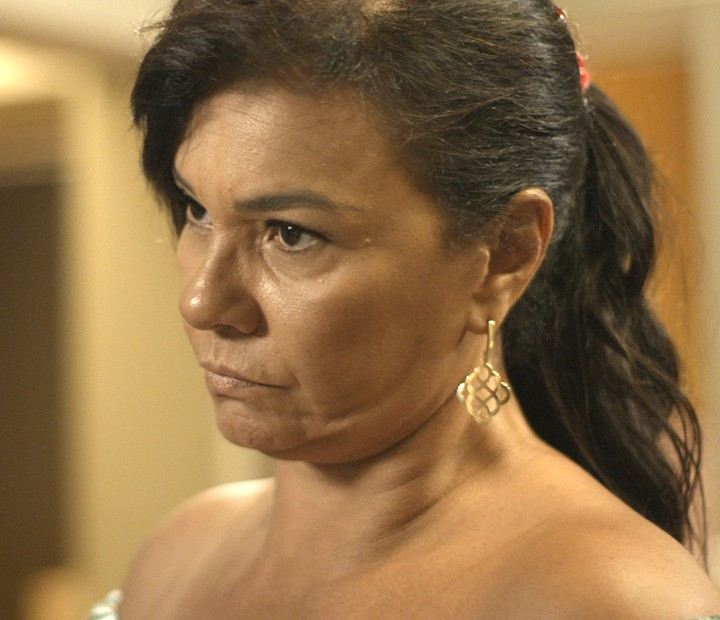 Vanda diz que não quer mais ver Luan (Foto: TV Globo)