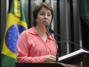 A senadora Ana Rita (PT-ES) (Foto: Moreira Mariz/Agência Senado)
