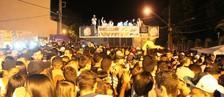 Carnaval na praça de igreja é a novidade   (Prefeitura Barbacena/Divulgação)
