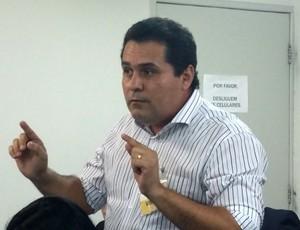 Epifânio Loiola, vice-administrativo do ABC (Foto: Jocaff Souza/GloboEsporte.com)