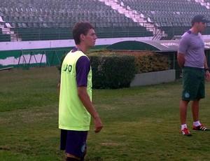 Romarinho treino Guarani (Foto: Marcello Carvalho)