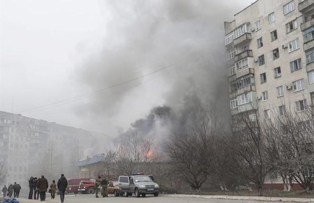 Ataque na Ucrânia deixa pelo menos 20 mortos e 86 feridos