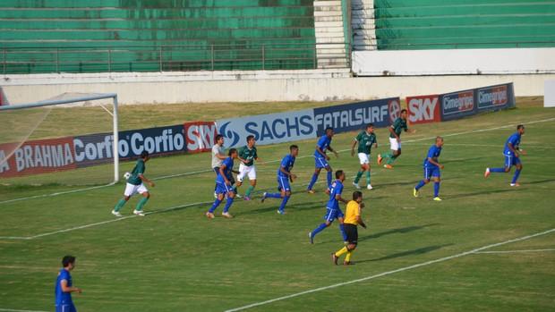 Guarani e Cruzeiro se enfrentam pela Copa do Brasil sub-20 (Foto: Murilo Borges / Globoesporte.com)