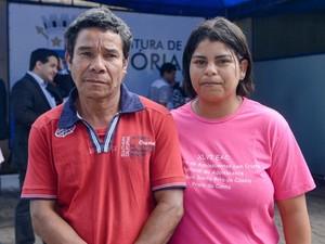 Casal acredita que vai ter novas oportunidades  (Foto: Diego Alves / PMV)