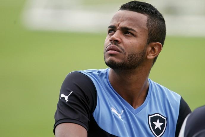 Pedro Rosa, treino Botafogo, Engenhão (Foto: Vitor Silva / SSPress)