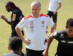 Dorival Junior no treino do Flamengo (Foto: Alexandre Vidal / Fla Imagem)