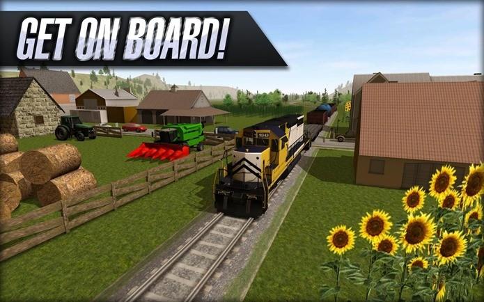 Quase idêntico ao jogo de maior sucesso no PC, Train Driver 15 é gratuito (Foto: Divulgação)