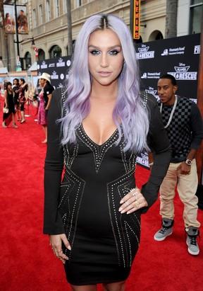 Kesha em première de filme em Los Angeles, nos Estados Unidos (Foto: Kevin Winter/ Getty Images/ AFP)