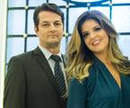 Marcelo Serrado e Mariana Santos | TV Globo