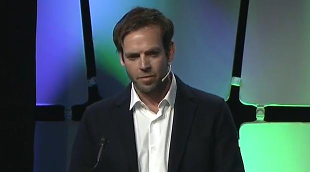 Andrew Frame, criador do app Citizen (Foto: Fabiano Candido)
