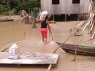 Cidade em emergência pela cheia no AM vai receber 8t de ajuda humanitária