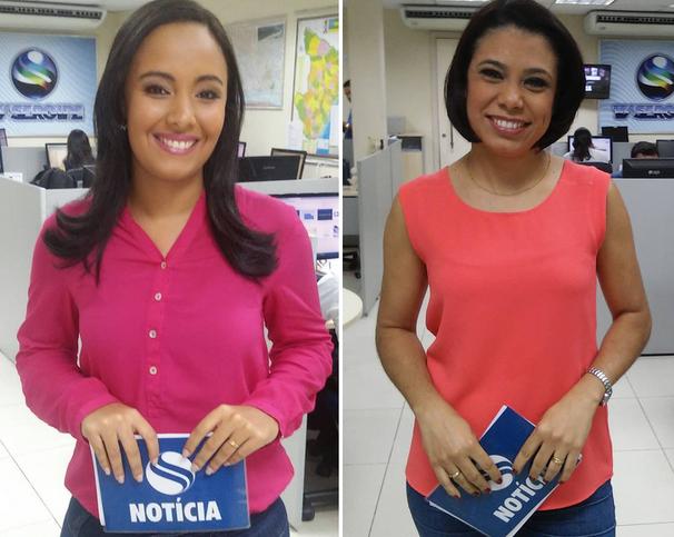 Sergipe Notícia é apresentado por Paulla Azevedo e Lays Rocha (Foto: Divulgação / TV Sergipe)