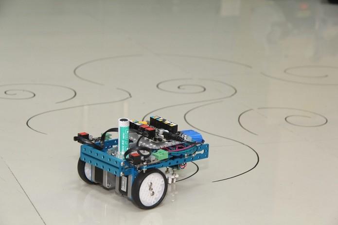 mCar é um carro-robô com três rodas (Foto: Divulgação/Kickstarter)