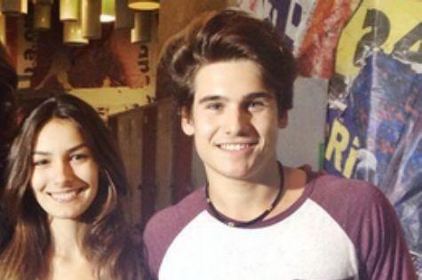 Marina Moschen e Nicolas Prates serão um casal em 'Malhação' (Foto: Reprodução)