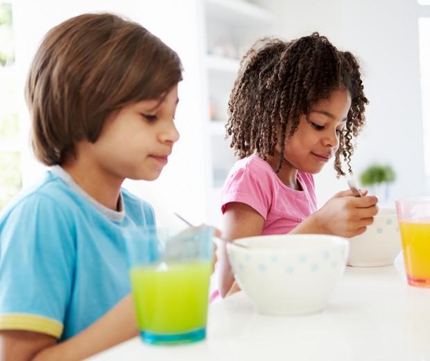 Café da manhã das crianças (Foto: ThinkStock)