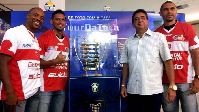 CRB Taça Copa Nordeste (Foto: Divulgação/Ascom )