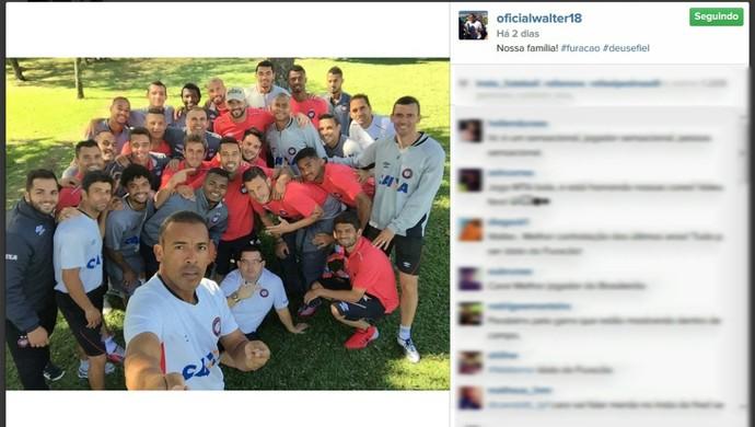Técnico Milton Mendes do Atlético-PR (Foto: Reprodução/Instagram)