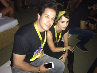 Murilo Benício e Debora Falabella (Foto: EGO/Aline Polillo)