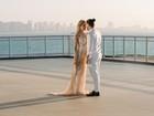 Wesley Safadão e Thyane se casam no civil; 'Momento nosso', diz ela