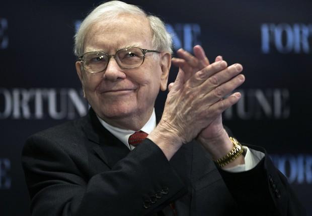O bilionário americano Warren Buffett : concurso que pode deixar um funcionário da Berkshire Hathaway muito rico (Foto: Getty Images)