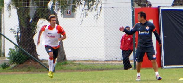 inter cláudio winck dunga treino (Foto: Tomás Hammes/Globoesporte.com)