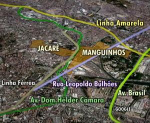 mapa_favela_rio_ (Foto: Reprodução)