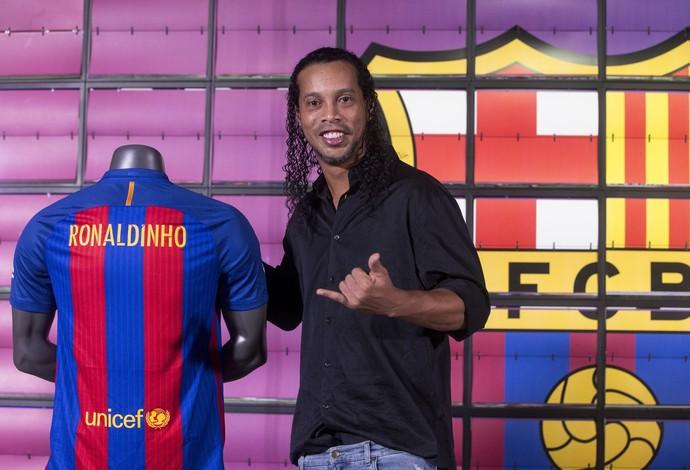 Ronaldinho Barcelona (Foto: EFE)