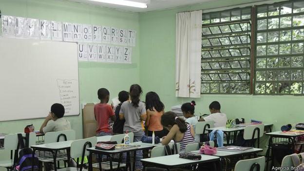Quando o assunto é a violência dentro das salas de aula, não parece haver consenso sobre suas principais causas (Foto: Agência Brasil/BBC)