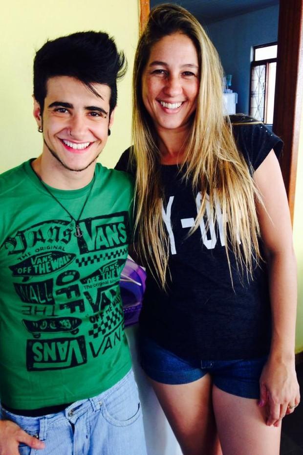 Tereza Brant com a sogra, Laura (Foto: Divulgação)