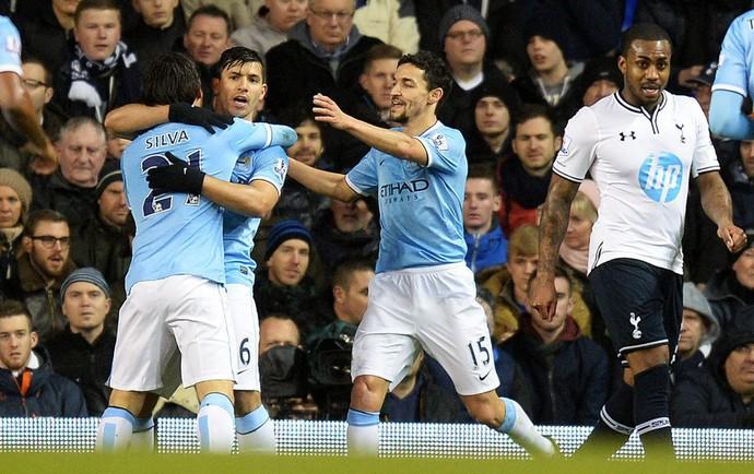 Aguero gol Manchester City (Foto: EFE)