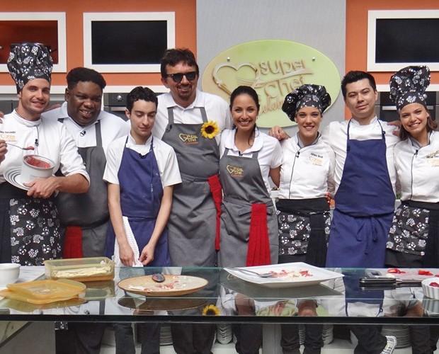 Workshop reúne famosos (Foto: Mais Você / TV Globo)
