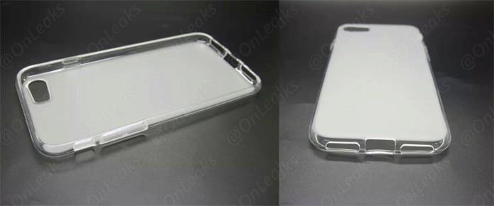 Suposta capa vazada do iPhone 7 indica que aparelho não terá entrada para fones de ouvido (Foto: Reprodução/9to5Mac)