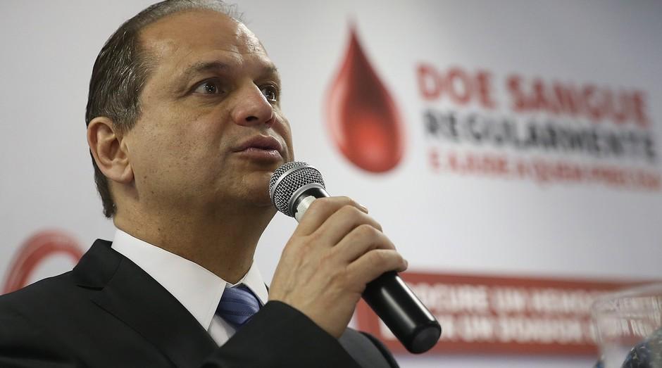Ricardo Barros, ministro da Saúde (Foto: Agência Brasil)