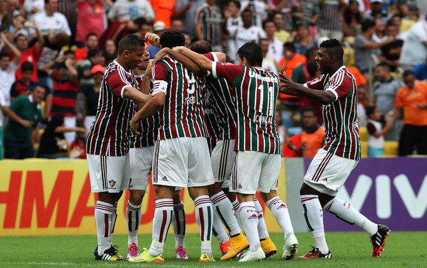 Wagner gol Fluminense x Atlético-PR (Foto: Nelson Perez / Flickr do Fluminense)