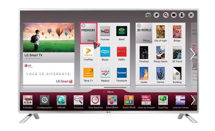LG 32LB570B é uma Smart TV da LG de 32 polegadas HD (Foto: Divulgação/LG) (Foto: LG 32LB570B é uma Smart TV da LG de 32 polegadas HD (Foto: Divulgação/LG))