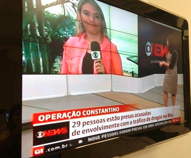 Rede Globo > intertvrj - Renata Igrejas e Cláudia Almeida entram ao