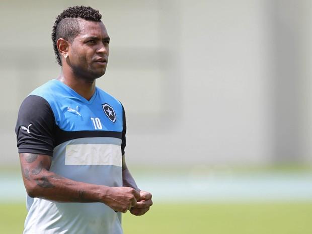 Jobson, ex-jogador do Botafogo (Foto: Bruno de Lima/Agencia o Dia)