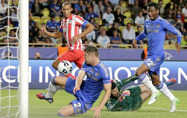 Miranda Atlético de Madri Chelsea (Foto: AP)
