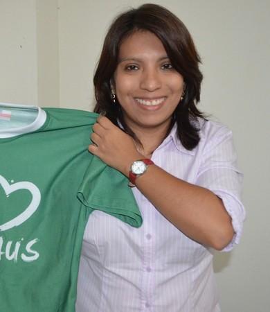Patrícia Serudo, presidente do Manaus FC (Foto: Emanuel Mendes Siqueira)