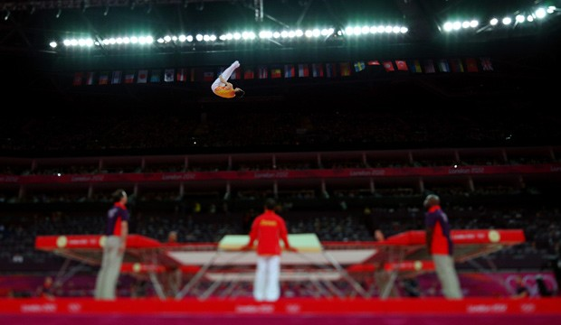 Chineses dominam o trampolim na ginástica  (Foto: Getty Images)