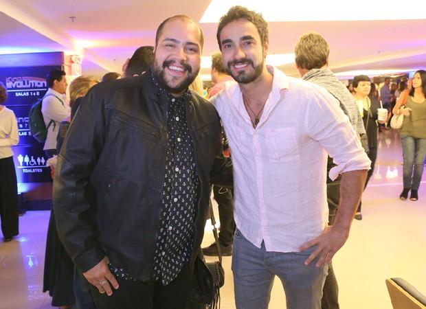Tiago Abravanel e Gabriel Godoy (Foto: Reginaldo Teixeira/CS Eventos Divulgação)