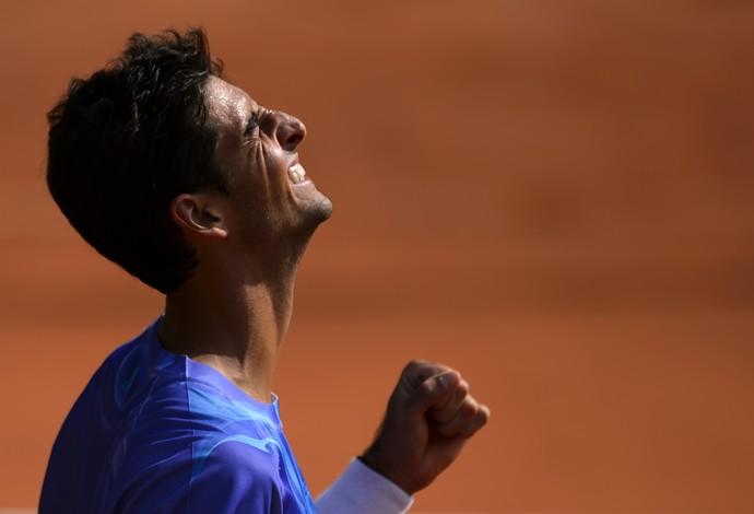 Bellucci campeão em Genebra (Foto: AFP)